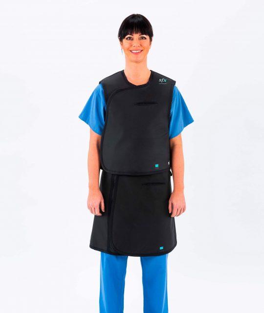 Two piece apron – full overlap (CV)