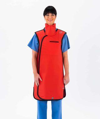 Coat style apron – 3/4 overlap (C1)