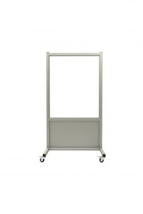 Mobile Leaded Barrier with 76.2cm x 91.5cm window