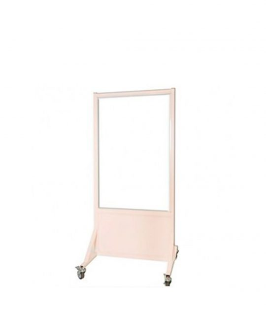 Mobile Leaded Barrier with 122cm x 76.2cm Window