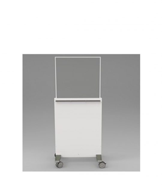 Collapsible Mobile Leaded Barrier
