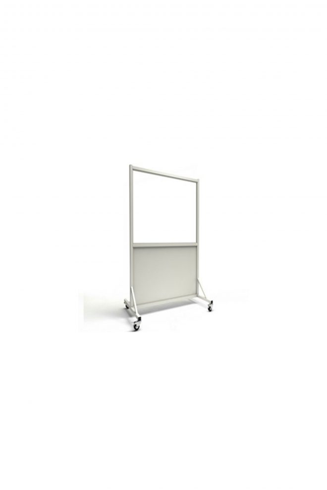 Mobile Leaded Barrier with 76.2cm x 122cm Window