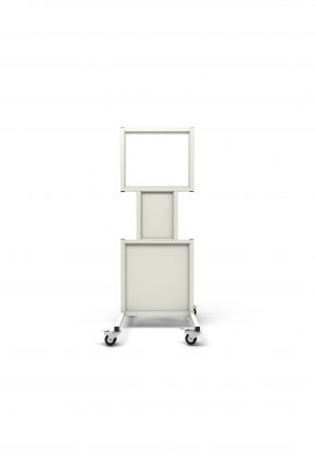 Mobile Leaded Barrier with 50.8cm x 61cm window