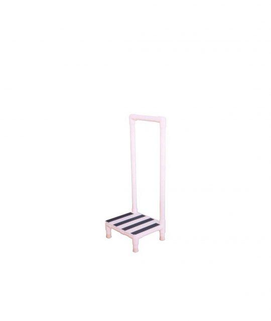 MRI Step Stool with Handrail